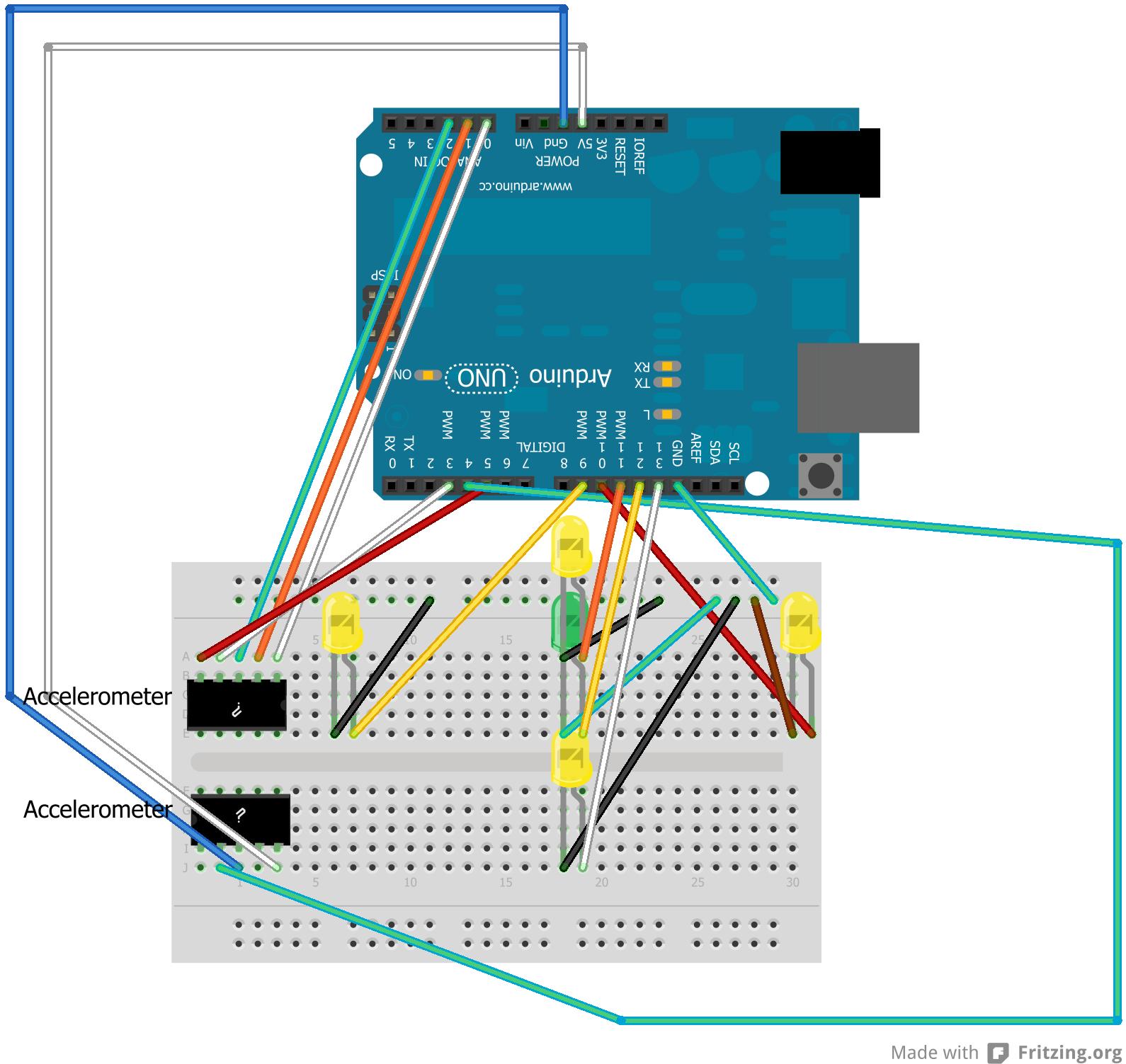 arduino project 3  accelerometer primer